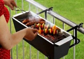 Urban barbecuen met Bruce de Handrail Grill
