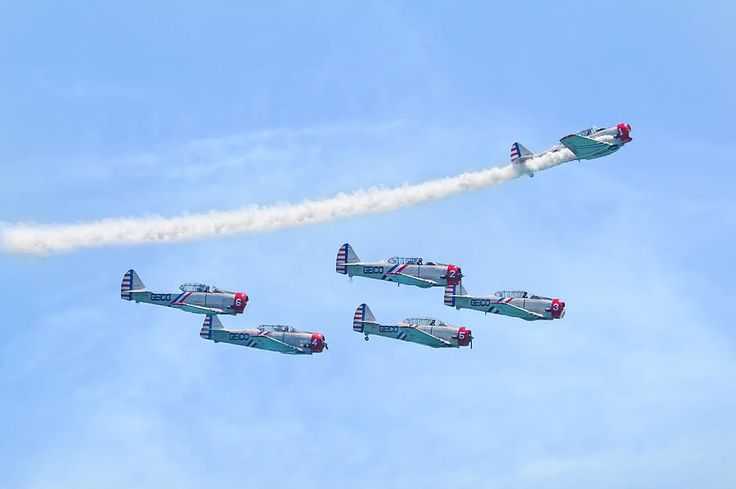 Geico Skytypers Squadron Photograph by Mark Andrew Thomas