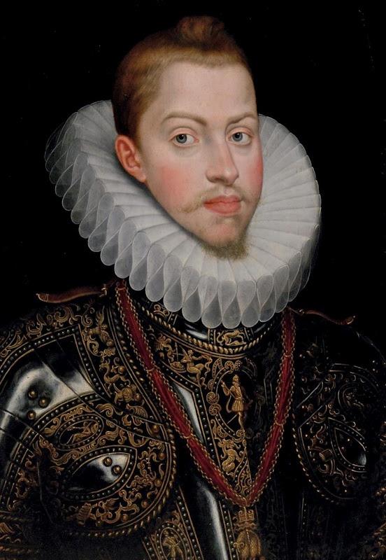 Juan Pantoja de la Cruz, Phillip III of Spain, 1603