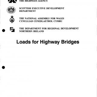 DESIGN MANUAL FOR ROADS AND BRIDGES THE HIGHWAYS AGENCY SCOTTISH EXECUTIVE DEVELOPMENT DEPARTMENT THE NATIONAL ASSEMBLY FOR WALES CYNULLIAD CENEDLAETHOL CYM. http://slidehot.com/resources/roy-belton-design-manual-for-roads-and-bridges-loads-for-highway-bridges.64542/