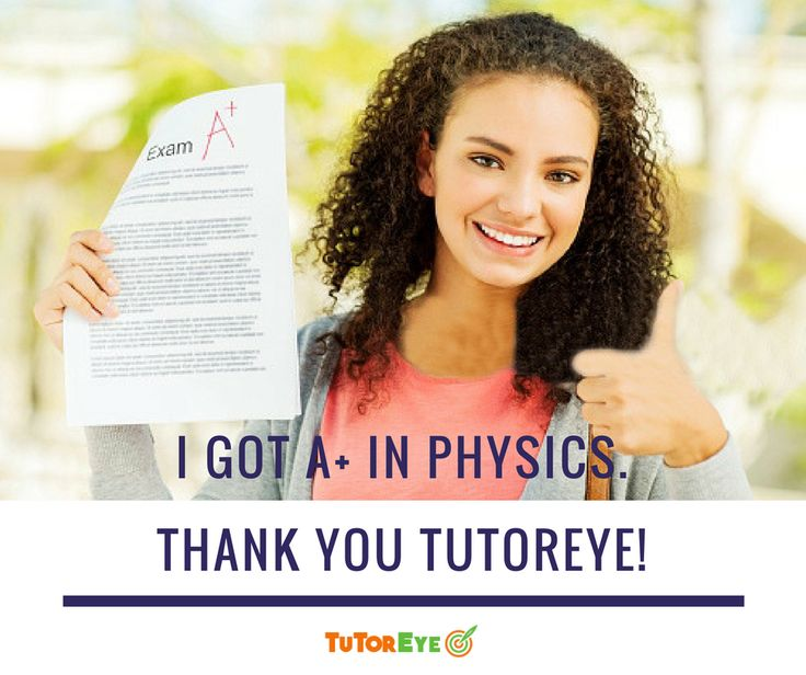 The results achieved by our students vouch for the expertise and commitment of #OnlineTutors at #TutorEye. Resgister to improve your grades, NOW!