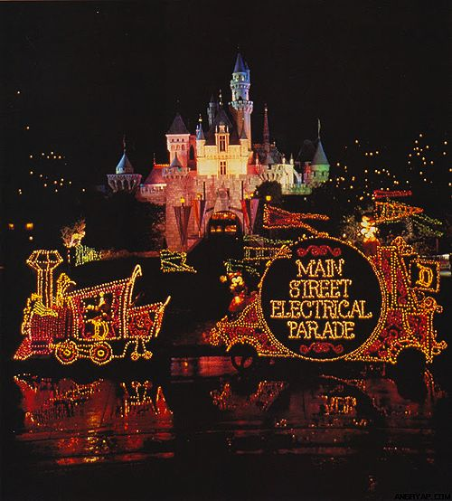 """Main Street Electrical Parade. Who doesn't love the original? And that theme just sticks in your head like """"It's a Small World."""""""