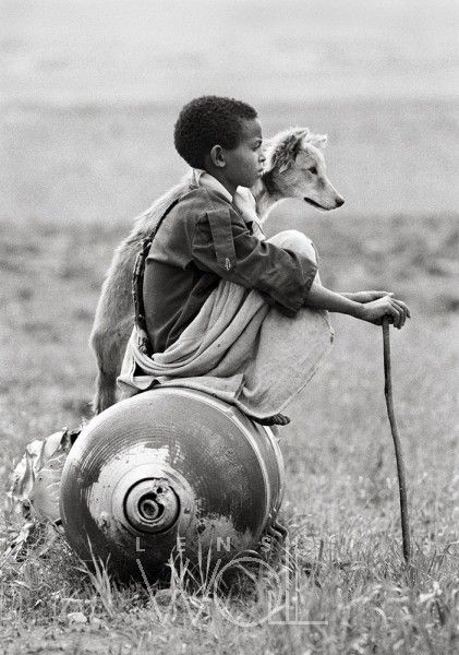 ETHIOPIA, BOY ON A BOMB BY DARIO MITIDIERI.