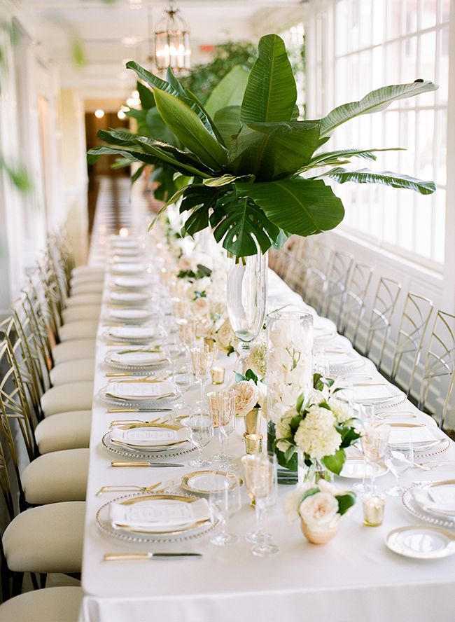 Best ideas about green wedding centerpieces on