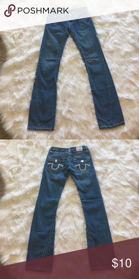 💥$10 Sale💥 True Religion Jeans Previously worn. True Religion Jeans