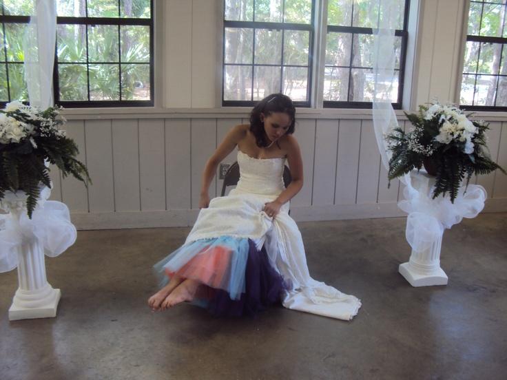 my dress underneath