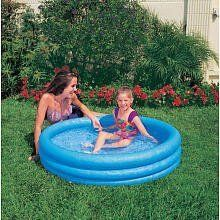 "Inflatable Crystal Blue Swimming Pool (45in X 10in) by Intex Industries. $12.95. Size 45""x10"""
