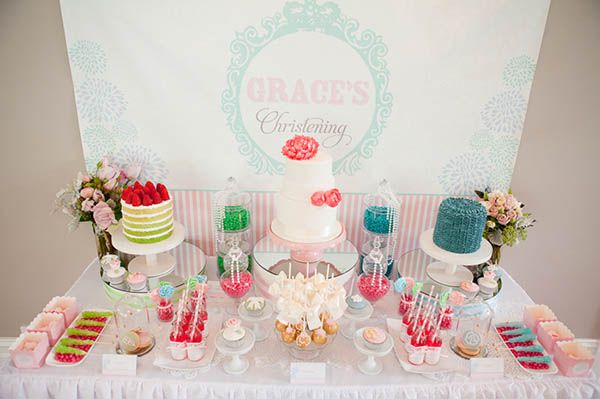 Cute and Colorful Christening Party