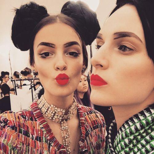 Chanel Fashion Show Makeup