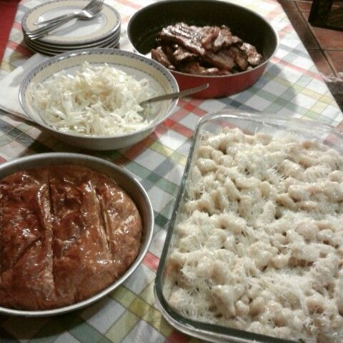 """""""Tsiknopempti"""" food tradition in Greece."""