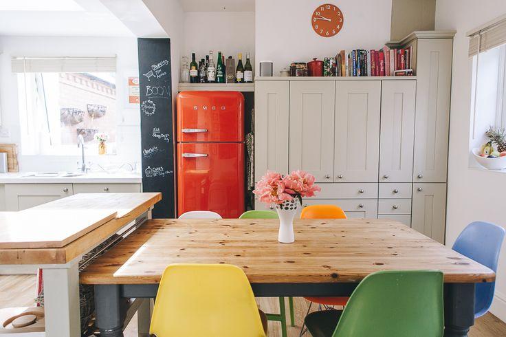 Kitchen splash of colours