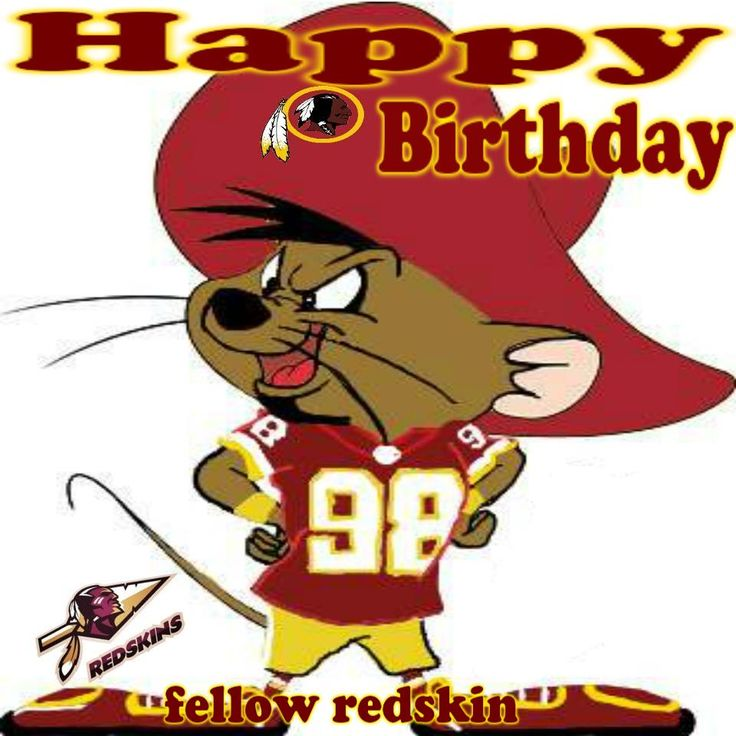 redskins bday