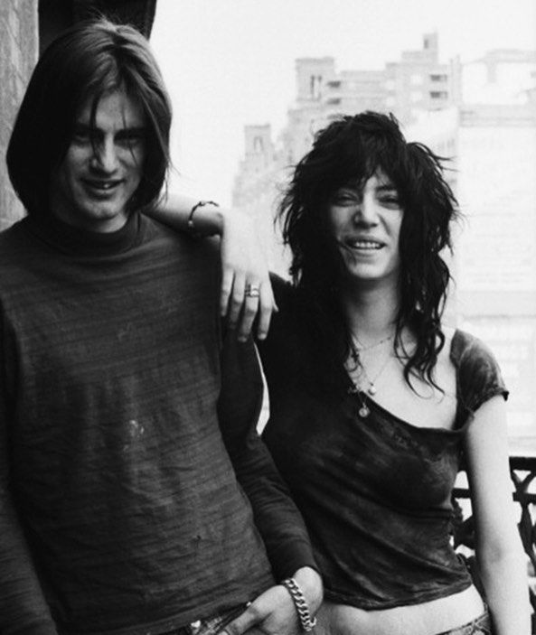 """351 Likes, 11 Comments - Bay Garnett (@baygarnett) on Instagram: """"Gorgeous and gifted Sam Shepherd has died. Here with Patti Smith in the 70s ❤️❤️"""""""