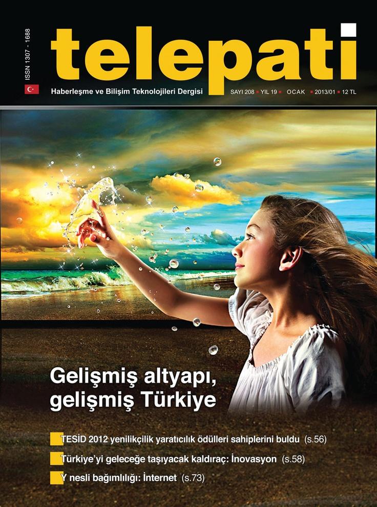 Telepati Dergisi, Ocak sayısı yayında! ÜCRETSİZ okumak için: http://www.dijimecmua.com/telepati/