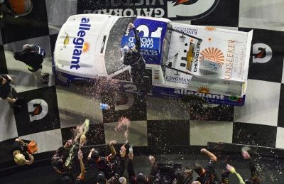 Johnny Sauter Wins NextEra Energy Resources 250 for 3rd Time