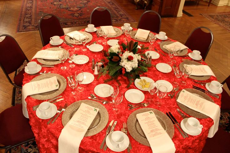 #Rosette linen adds texture to any table! #Chartwells # ...
