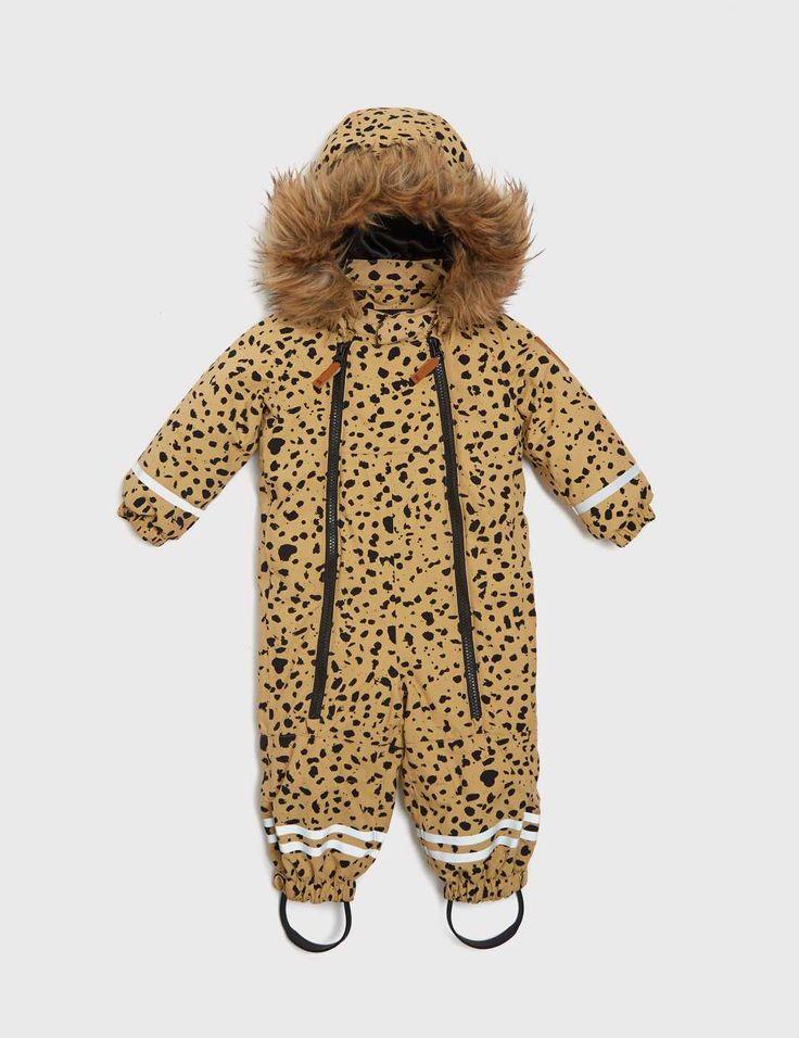 Mini Rodini Expedition Alaska Baby Overall
