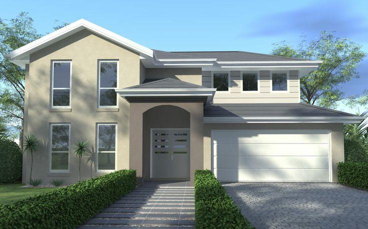 Wisdom home designs aspiration grand portico facade for Ideal home designs