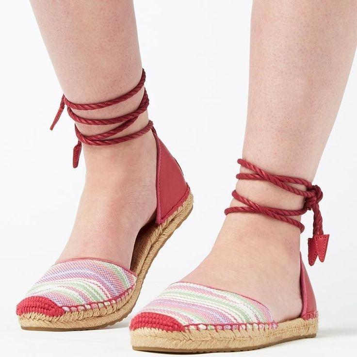 Women UGG Sandals Libbi Serape 1011189 sz 8US, 39EU, 6.5UK Furious Fuchsia Pink #UGGAustralia #AnkleStrap