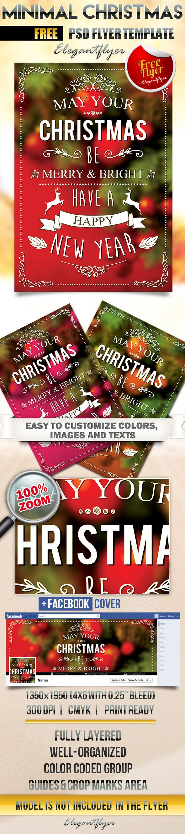17 best images about psd flyer design 2015 minimal christmas flyer psd template facebook cover