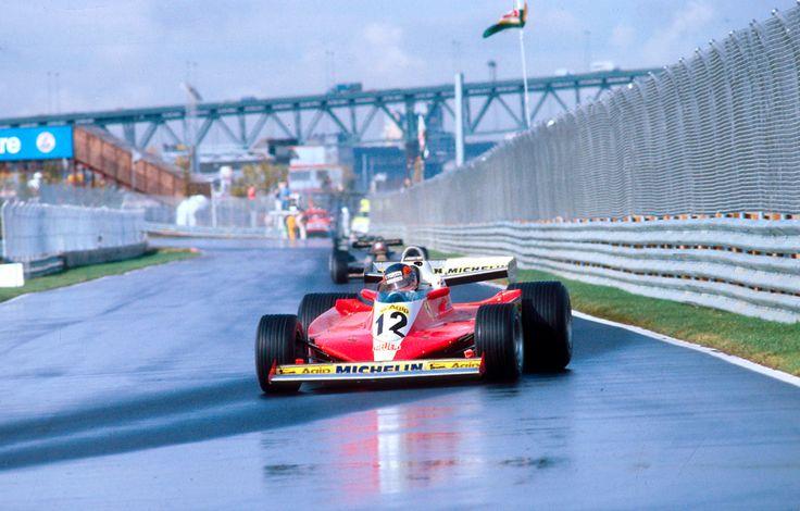 GillesVilleneuve Ferrari312T3 Montreal Canada