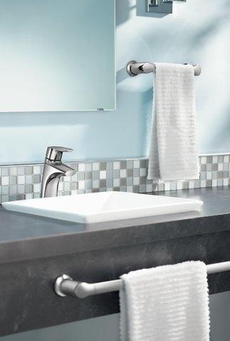 Moen Method Chrome One Handle Low Arc Bathroom Faucet