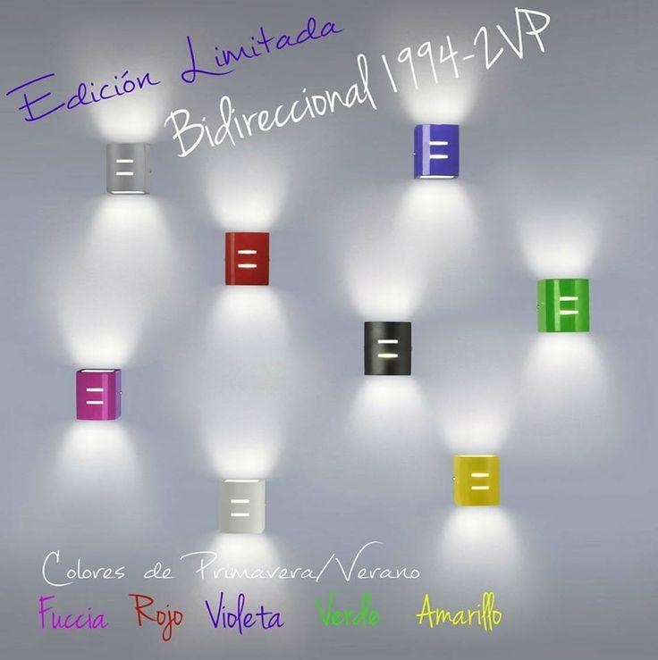 """¡Edición limitada! Bidireccional """"1994"""" - 2VP de FW Iluminacion. Para más info ingresá a http://www.iluminacion.net/index/ampliado.asp?articulo=1994&ID_Producto=959"""