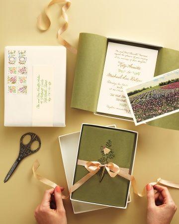 Wedding Invitations & Stationery | Martha Stewart Weddings