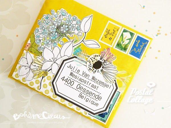 Postal collage - Envelope by BohèmeCircus
