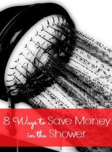 Would you have guessed that there are actually quite a few ways to save money in the shower? Find out 8 ways that you can save money AND the environment!