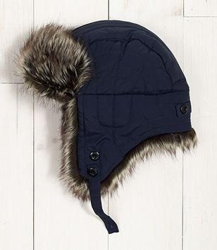 J.Crew Trapper hat.   I need this
