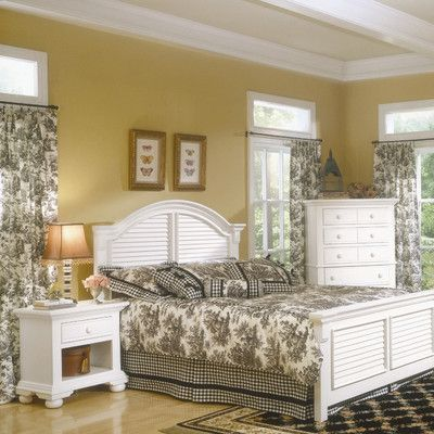Cottage Traditions Panel Customizable Bedroom Set - http://delanico.com/bedroom-sets/cottage-traditions-panel-customizable-bedroom-set-589553883/