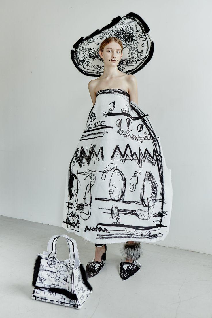 Edda Gimnes #artluxedesigns #fashion #illustrated