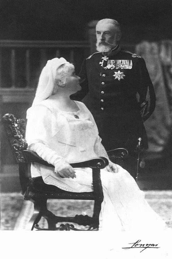 King Carol I and Queen Elisabeth