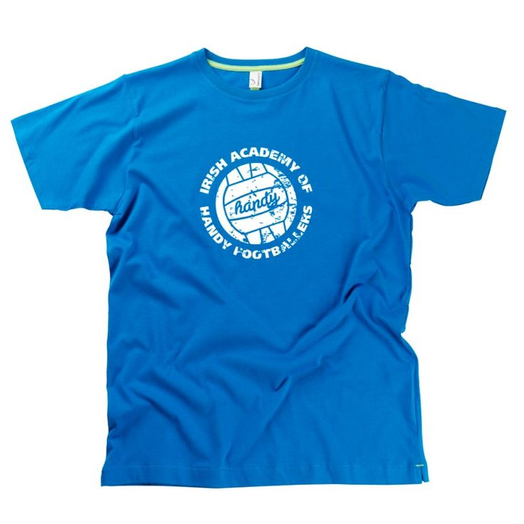 Handy Footballer Gent's T-Shirt by Hairy Baby