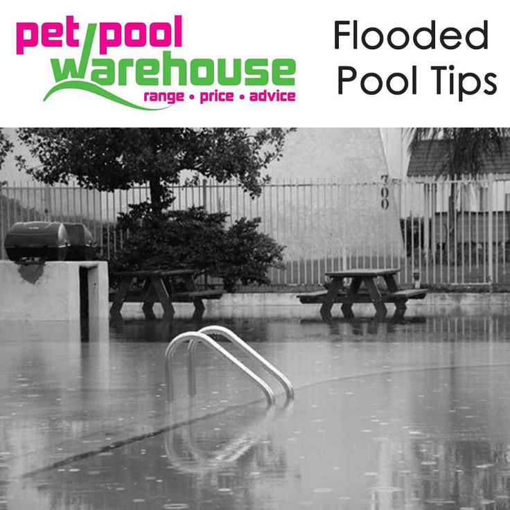 We've had some hectic rain in the Garden Route the last two days. Is your pool running over/flooded?  Depending on how dirty the water is in your pool, you will have to assess whether it makes sense to add chemicals -chlorine, flocculent and clarifiers to begin cleaning the water and removing solids from the water, plumbing lines, filter and other components. The second option is to drain the pool partially or completely.  Speak to the professionals at Pet Pool Warehouse Knysna about…