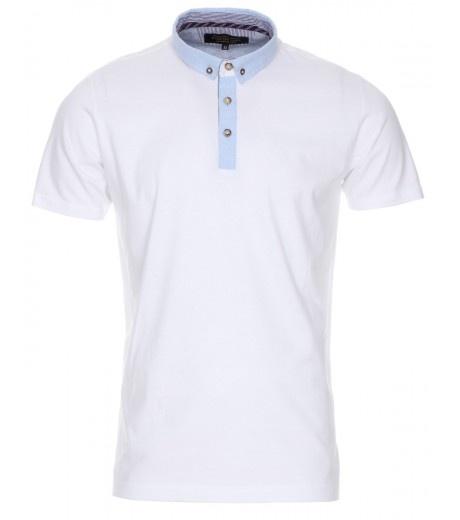 Optic White Smart Polo Shirt - £12.99