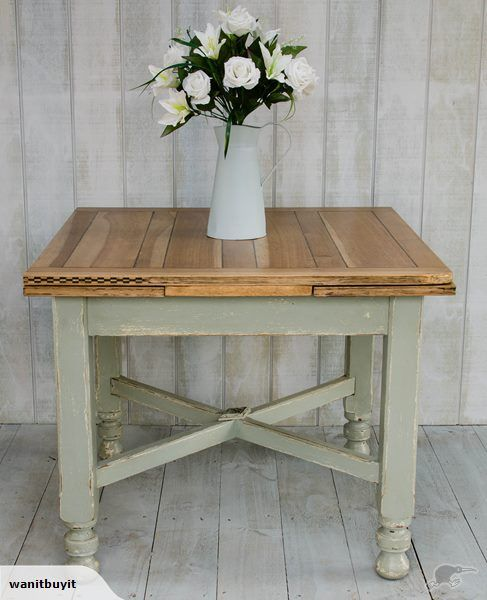 OLD OAK COUNTRY DINING TABLE - RUSTIC RESTYLED | Trade Me