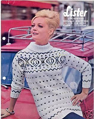 85 best Vintage Knitting Mania images on Pinterest | Blouses, Bad ...