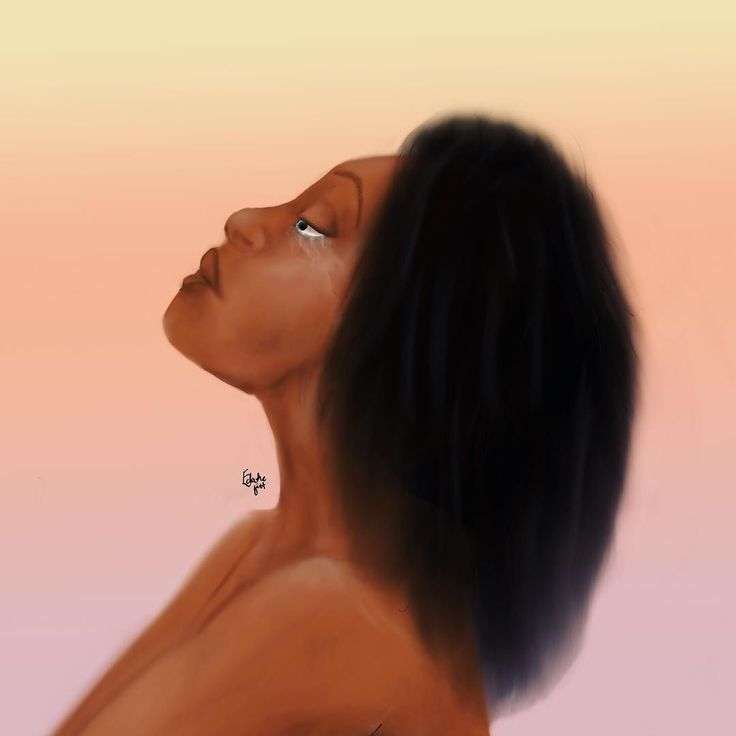Endurance  Sometimes you can not fight.  You cannot resist.  You must simply endure.  You must stay until it's done.  Remain and endure.  Endure until it passes. . . . . . . . . .  #eclecticgift #blackartist #blackartspace  #blackcreator #blackart #mentalhealthart #supportblackart  #representationmatters #representation  #dontjudge #arttherapy #artformentalhealth #mentalhealth #selflove #depression #therapy #cbt #schematherapy #blackmentalhealth #blackmentalhealthmatters…