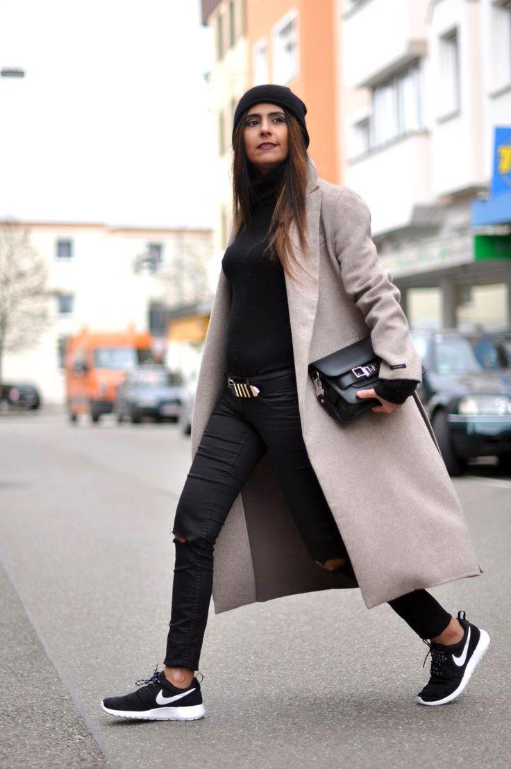zapatillas nike mujer casual negras