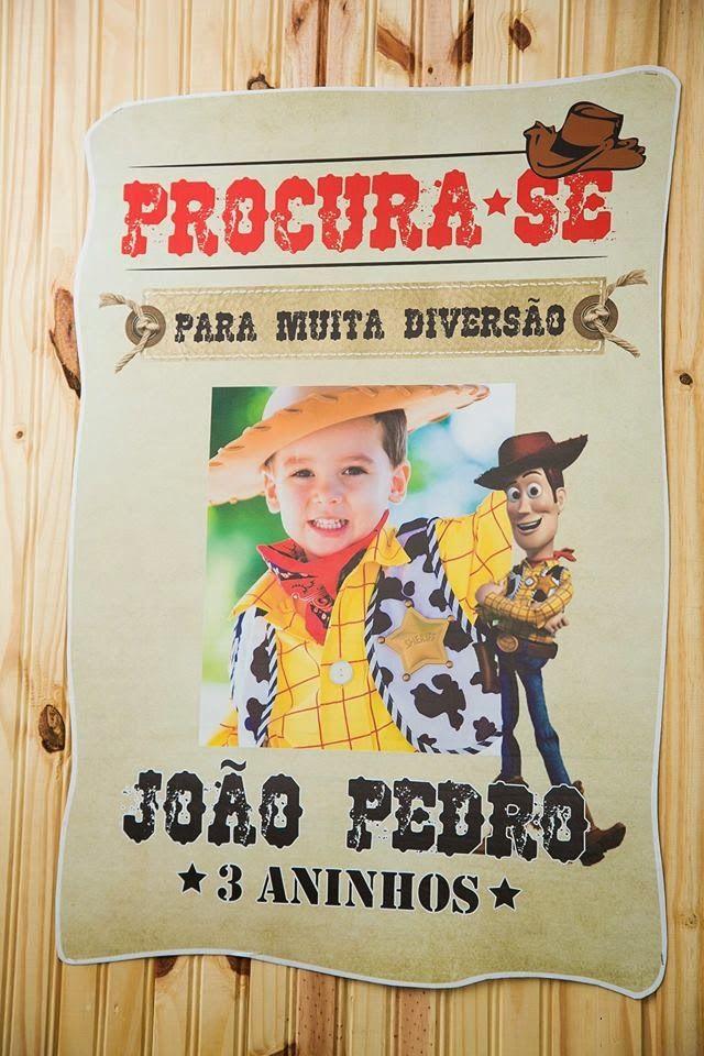 Brinque Fest: Toy Story do João!!!