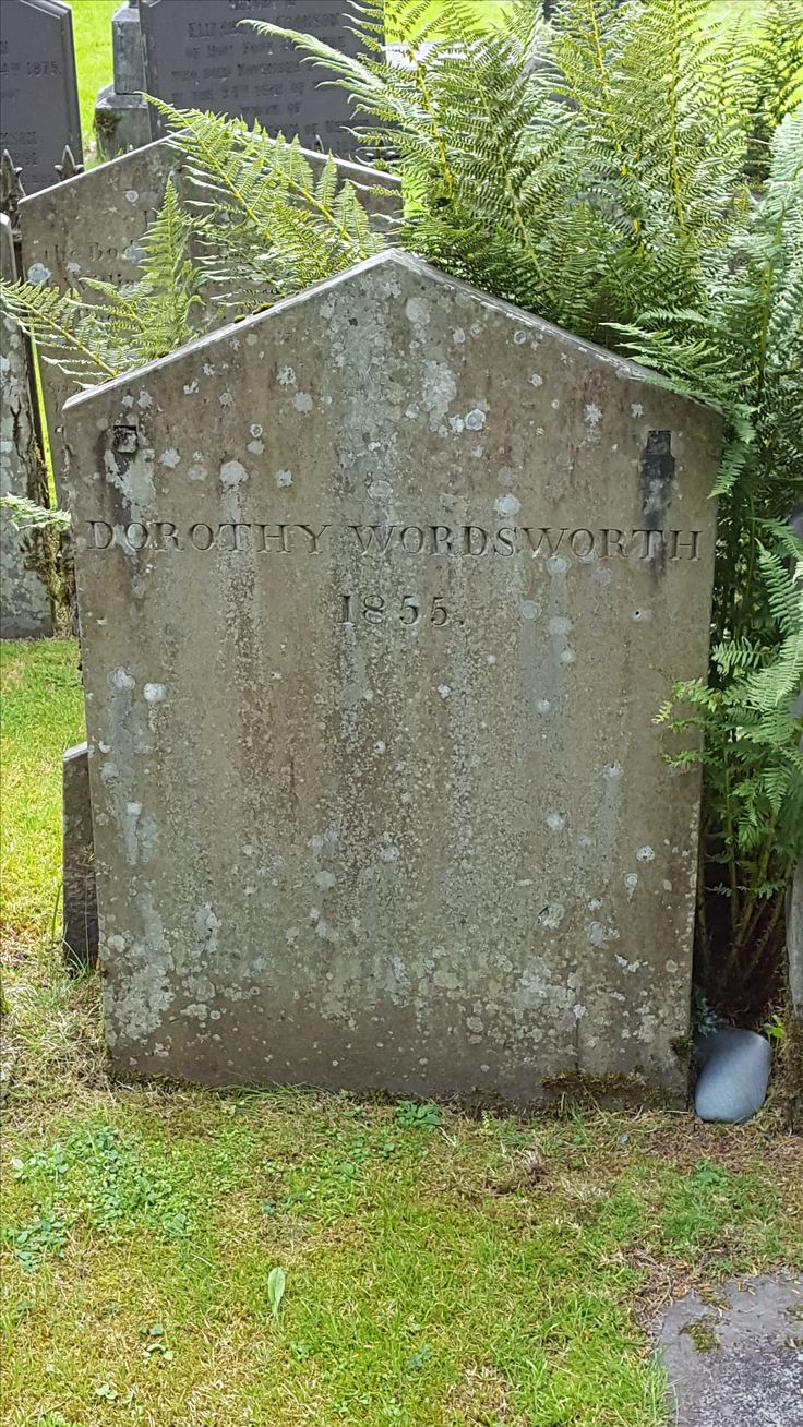 July 2016 - Dorothy Wordsworth's grave at the parish church