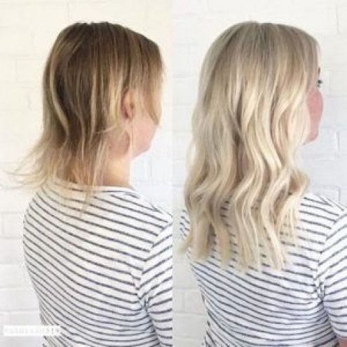 Clip In Hair Extensions for Short Hair    #ClipIn #Hair #Extensions #Short #hair…