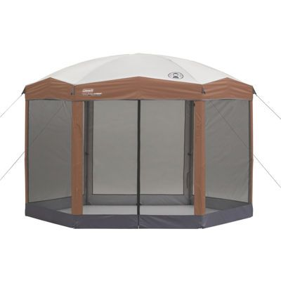 buy coleman hexagonal instant screened canopy today at jcpenneycom you deserve great - U Shape Canopy 2015