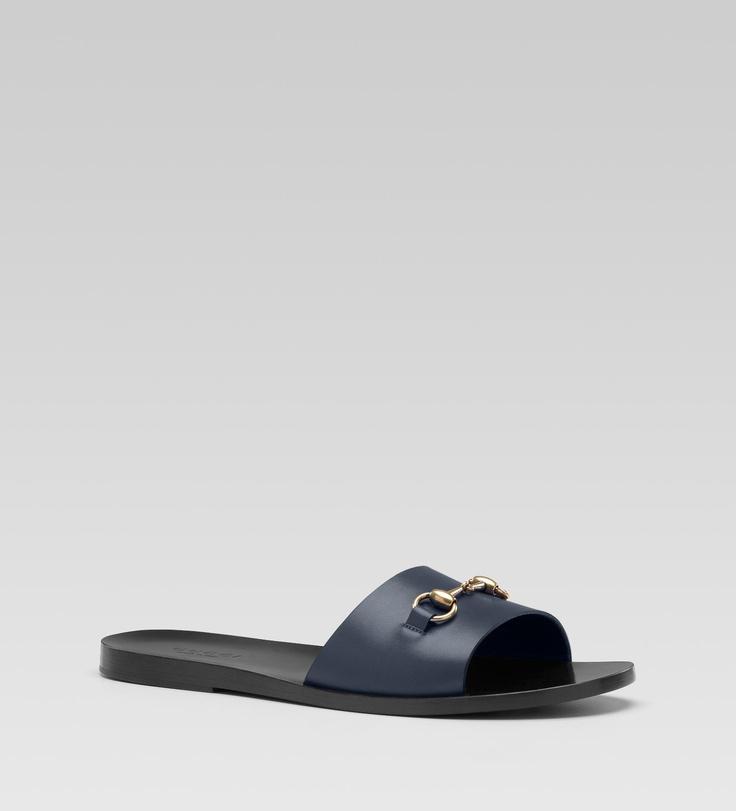 GUCCI Sandal with horsebit... I'm loving it...