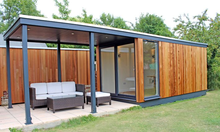 Quebec Style Garden Studio Built In Hampshire By Hilton
