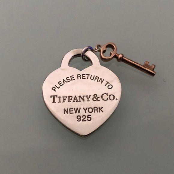Return To Tiffany Heart Key Pendant Heart Key Pendant Key Pendant Tiffany Heart