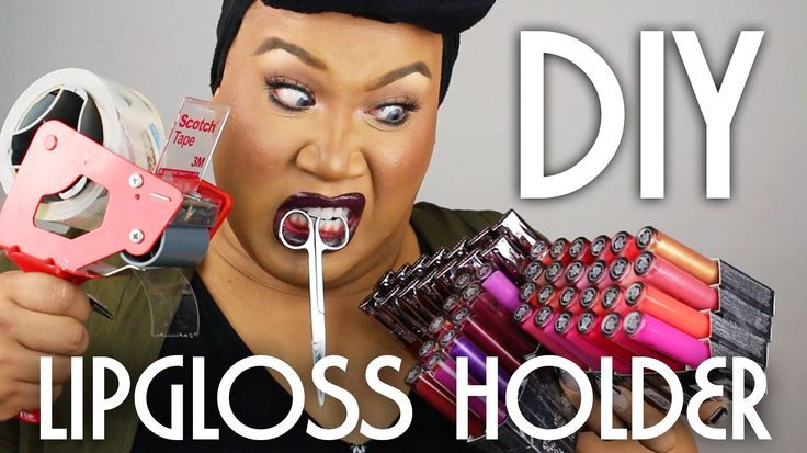 DIY Lipgloss and Lipstick Holder | PatrickStarrr