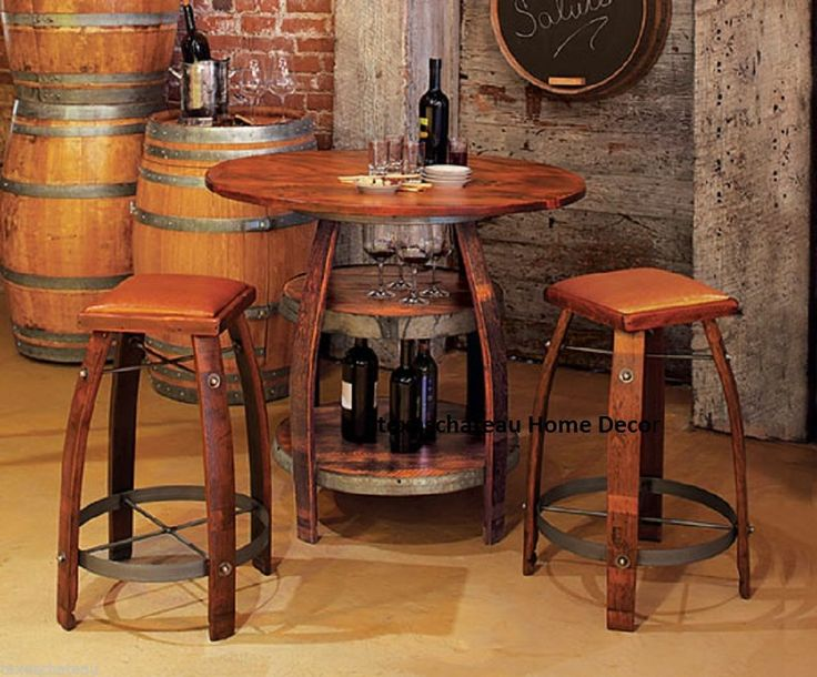 17 Best Images About Barrel Tables On Pinterest Open